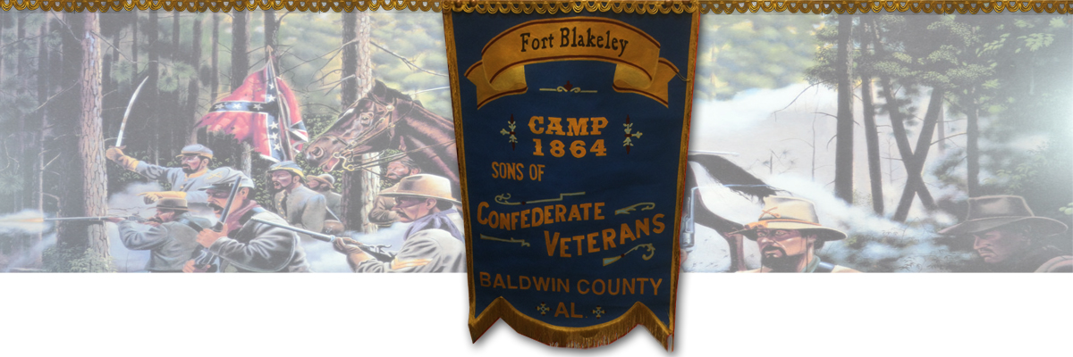 Sons of Confederate Veterans - Fort Blakeley Camp #1864